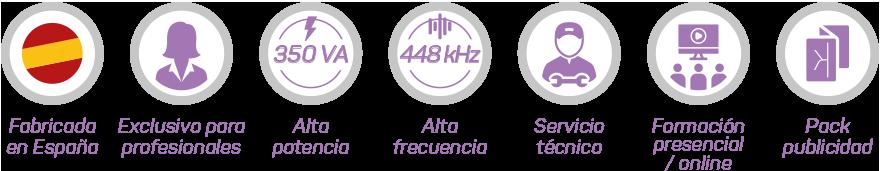 Alquiler radiofrecuencia 18